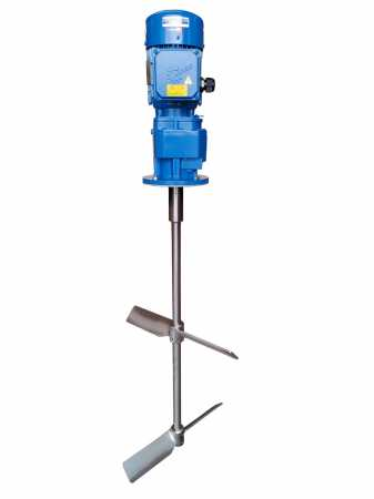 Vertical gear agitator 1,5 KW 45 rpm up to 5000 m/Pas